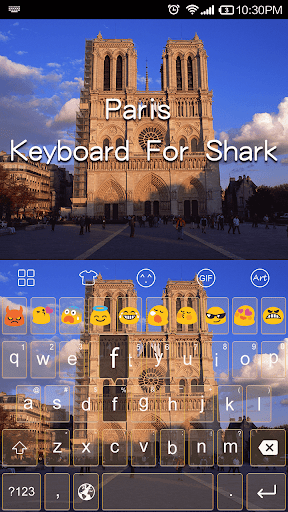 Paris Kingdom -Emoji Keyboard