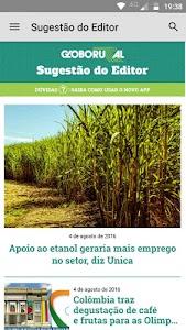 Revista Globo Rural screenshot 0