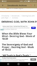 Desiring God with John Piper screenshot thumbnail