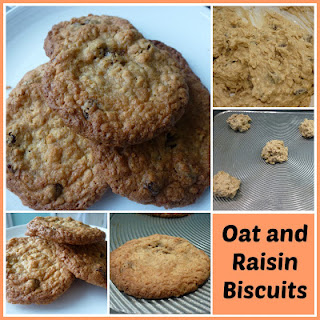Oat and Raisin Biscuits.