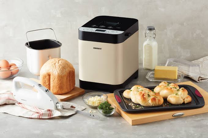 1. Homemate เครื่องทำขนมปัง รุ่น HOM-262401 02