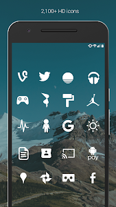 Flight Lite - Minimalist Icons screenshot 1