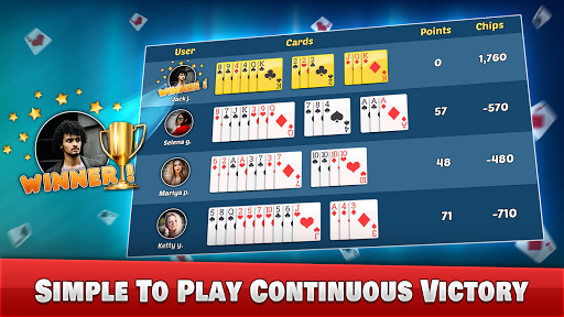 Indian Rummy Offline - Free Rummy 13 Card Games screenshots 14