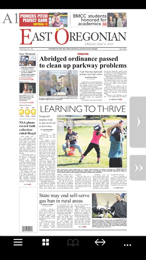 East Oregonian e-Edition - screenshot