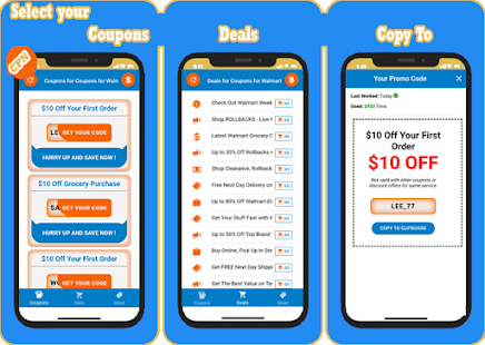 Coupons For Walmart Vouchers And Promo Codes Apps On Google Play