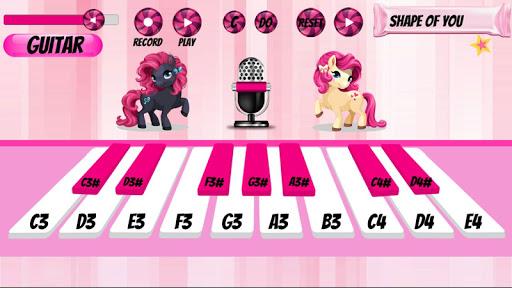 Girl Piano : Pink Piano android2mod screenshots 12