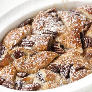 Nutella Bread Pudding.