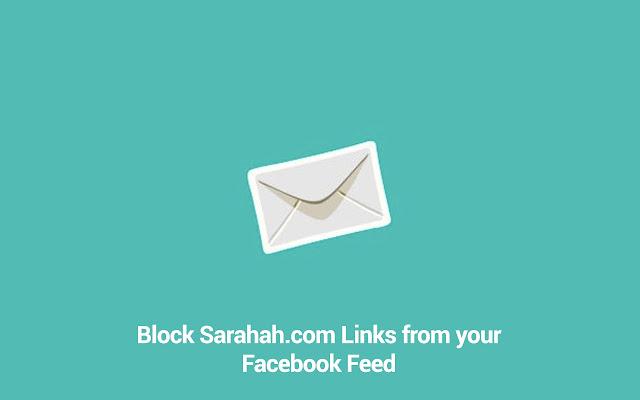 Sarahah Facebook Feed Blocker