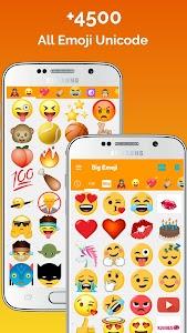 Big Emoji - large emoji for all chat messengers 5.3.6 (Mod)