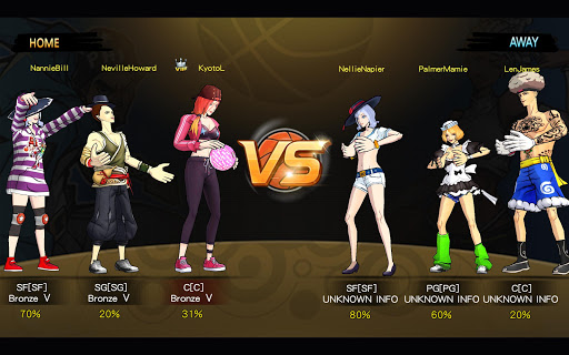 Basketball Hero-Freestyle 2 mobile 3on3 MOBA 1.2.1 screenshots 12
