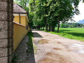 Photo: Frohnburg route: Where Maria skipped along singing I Have Confidence (you'll eventually hit the yellow house, now a music academy).
