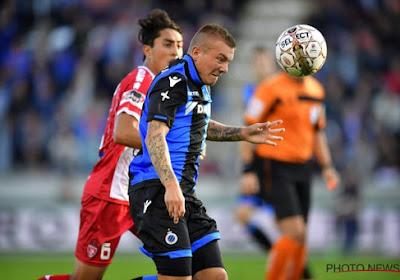 """Malgré la défaite de Bruges, Jordy Clasie se dit """" très heureux au Club »"""