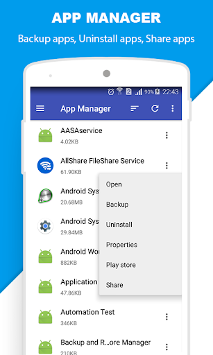 File Manager 3.4 screenshots 6