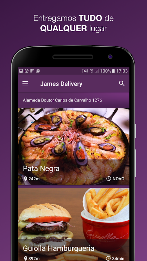 James Delivery- screenshot