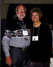 Photo: Russ Newell, '56, and Susie Cumins Newell