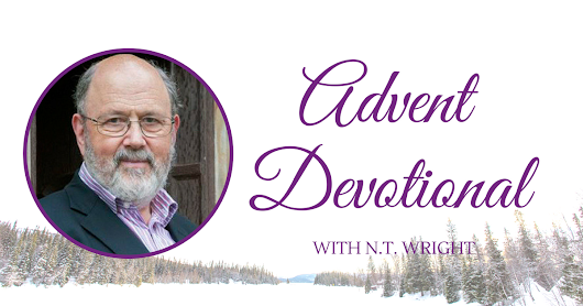 Free Advent Devotional from N.T. Wright