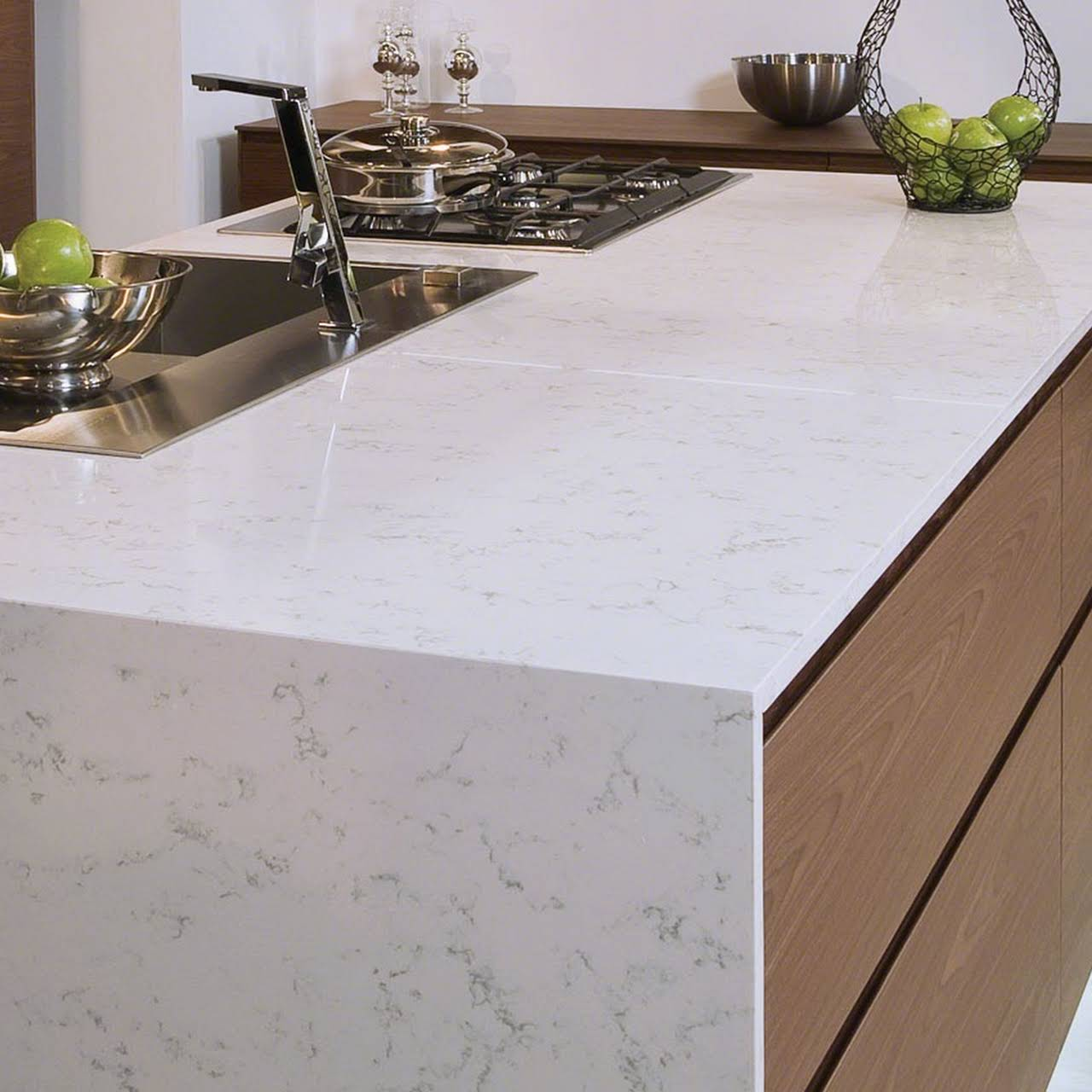 seams noticeable seam a should how be quartz wall qkbwk and on countertops counter countertop install questions installation the