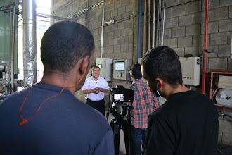 Photo: Entrevistando a Jorge Gil TERMILENIO