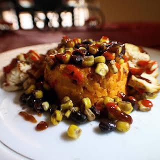 Sweet Potato Barbecue Chicken.
