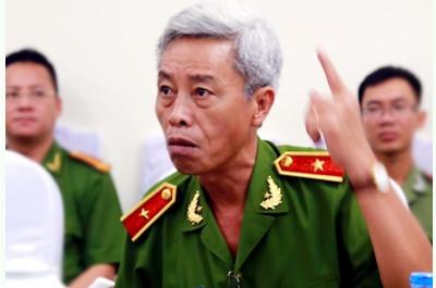 Thiếu tướng Phan Anh Minh - Phó Giám đốc Công an thành phố Hồ Chí Minh