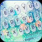 Water Keyboard -  Blue Glass Water Keyboard Theme icon