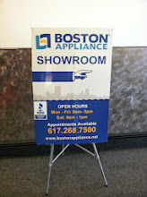 Photo: Boston Appliance Company in Boston, MA proudly displaying their BBB Accreditation