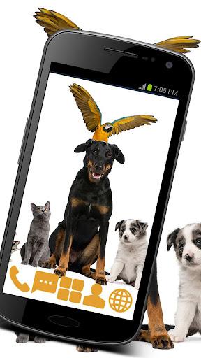 Home Animals Theme GO ADW APEX