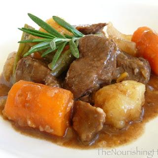 Easy Crockpot Beef Stew (GF, DF).