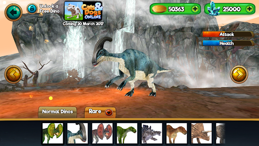 Dino World Online - Hunters 3D  screenshots 8