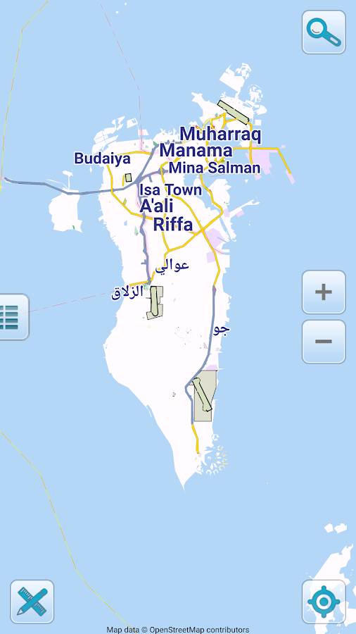 Map Of Bahrain Offline Android Apps On Google Play - Bahrain map