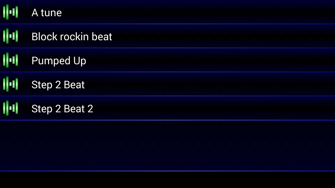 My Beat Creator- screenshot
