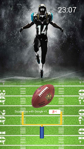 Superbowl Football Lockscreen