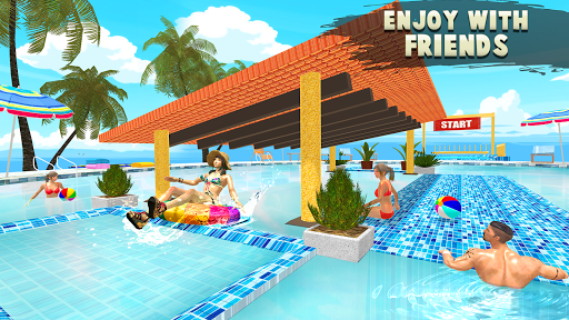 Water Parks Extreme Slide Ride : Amusement Park 3D 1.32 screenshots 4