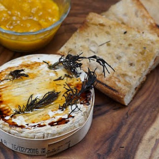 Baked Camembert with Mango Jam Recipe