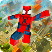 Cube Spider vs Cube X-Hero