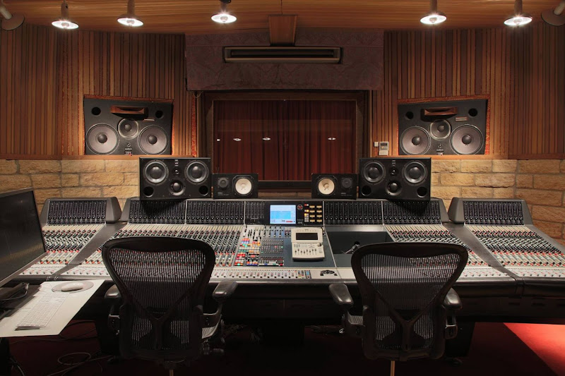 ICP Upgrades studio with ATC SCM45A Pro