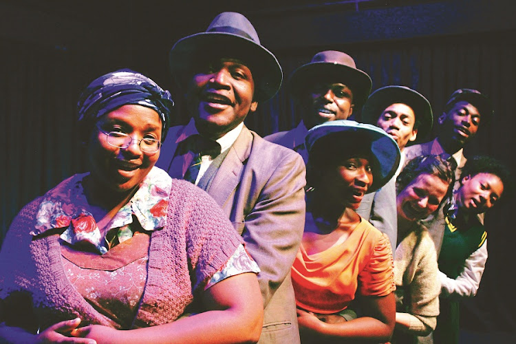 Sophiatown. The stage musical offers a nuanced view of the era. Picture: BLAQSMITH