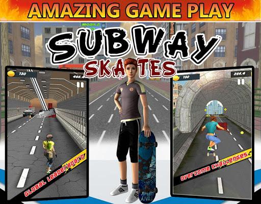 地铁酷滑3D