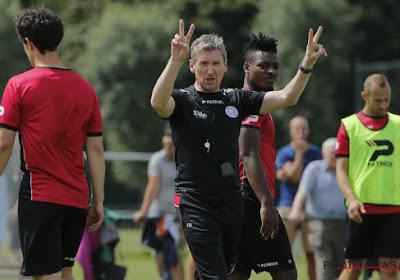 Six absents dans la sélection de Dury pour le match d'ouverture de Zulte Waregem