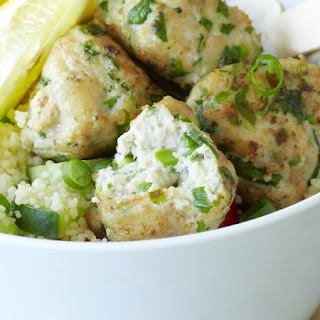 Chicken Meatballs with Couscous Salad