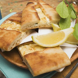 Stuffed Turkish Flatbread