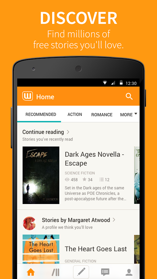 Wattpad  📖  Free Books- screenshot