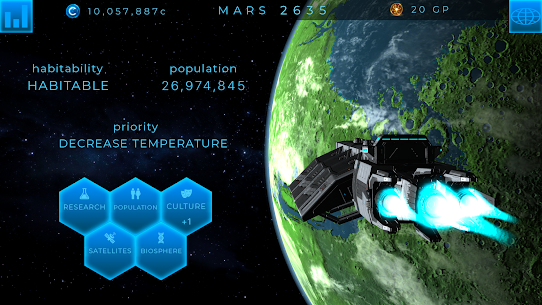 TerraGenesis Space Settlers Mod Apk (Unlimited Money + No Ads) 5.10 5