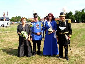 Photo: V.l.n.r.: Rien Vranken, Piet Huisman, Cheyenne Golsteijn & Henrie Vranken