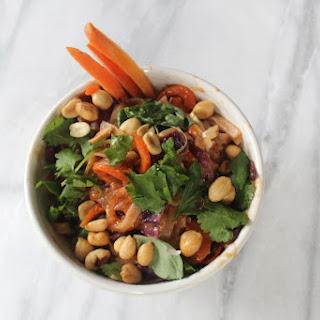 Veggie Phad Thai Noodle Bowl