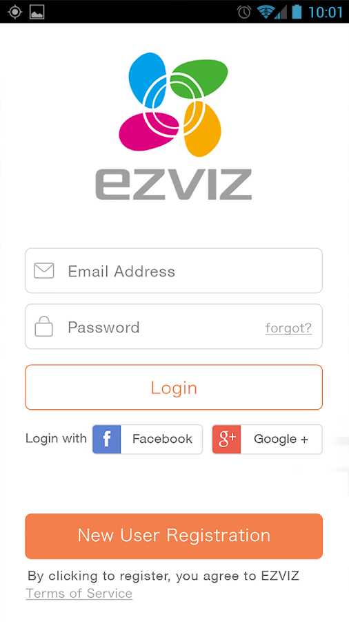 EZVIZ- screenshot