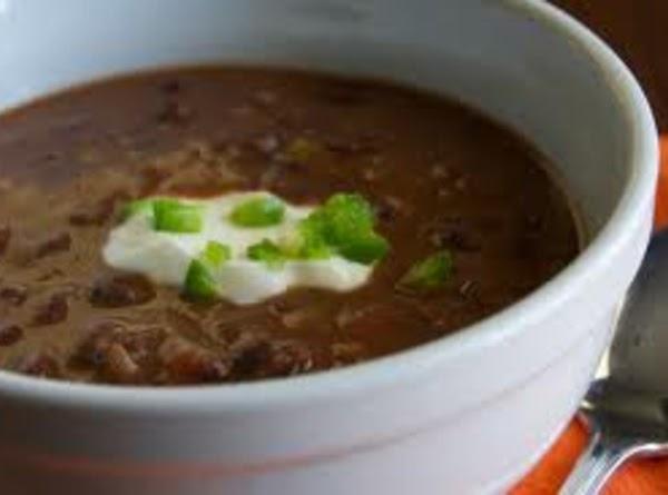 Cheater Black Bean Soup Recipe