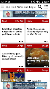 Enid News and Eagle - náhled