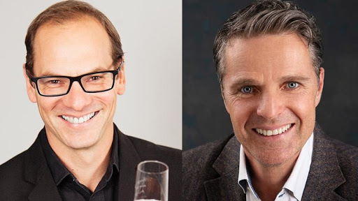 Keet van Zyl, investment partner at Knife Capital, and Doug Siepman, CEO and co-founder of 5nines.