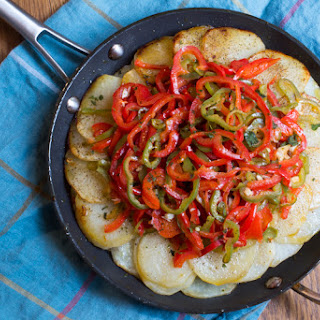 Calabrese-Style Fried Potatoes with Peppers